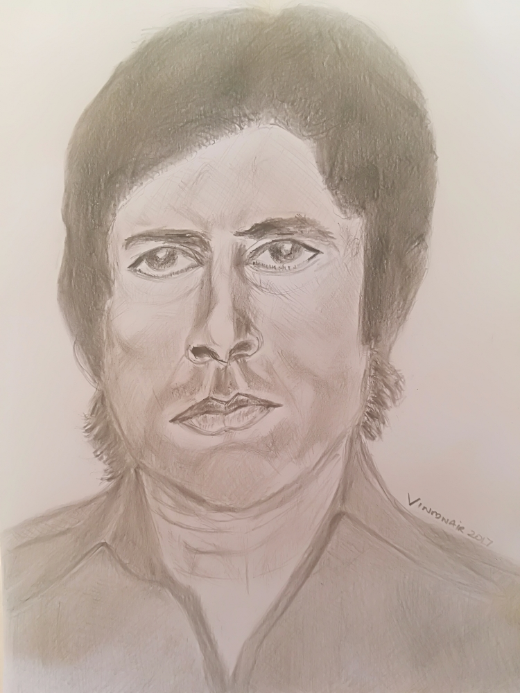 Amitabh Bachchan by vinodnair
